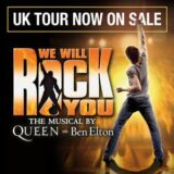 We Will Rock You UK Tour 2021 – Book We Will Rock You Tour Tickets