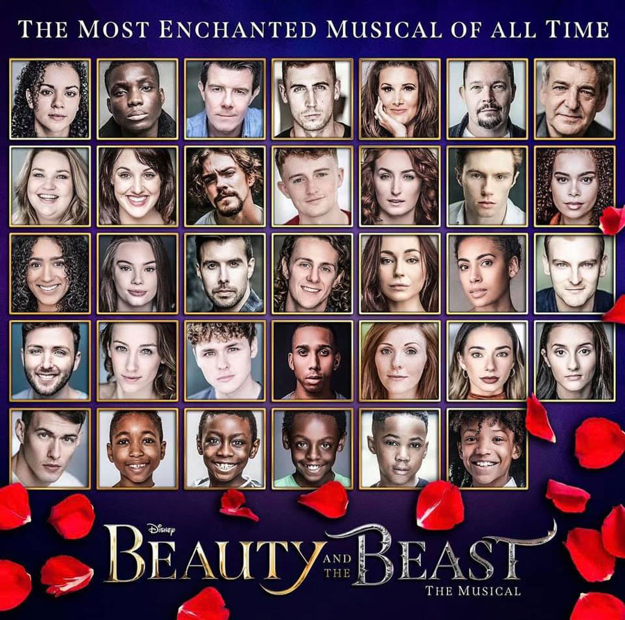 Beauty and the Beast tour cast