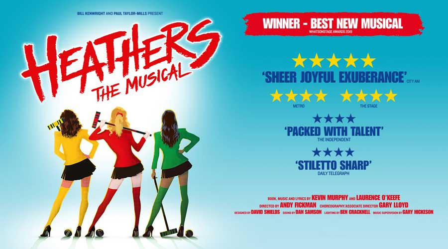 Heathers musical Tour tickets 2021