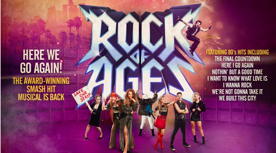 Rock Of Ages Tour tickets