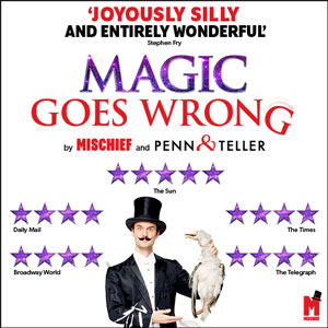 Magic Goes Wrong tickets