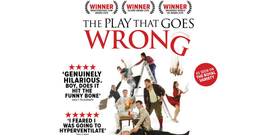 The Play That Goes Wrong Tour 2021
