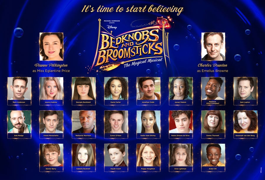 Bedknobs and Broomsticks cast