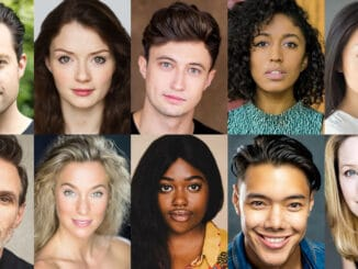 Heathers the Musical West End cast