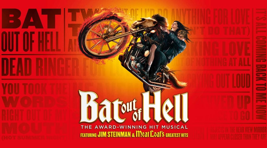 Bat Out Of Hell UK Tour tickets